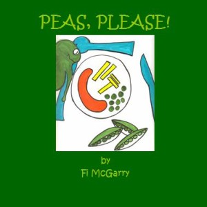 Partan Press Childrens Books - Peas Please by Fi McGarry