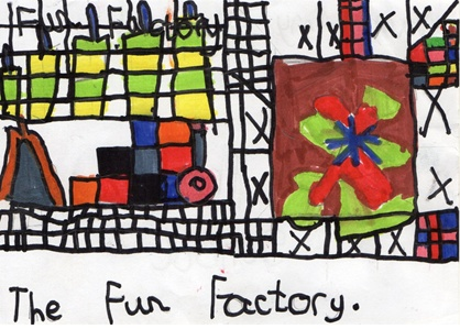 Partan Press - The Fun Factory by Amy Campbell